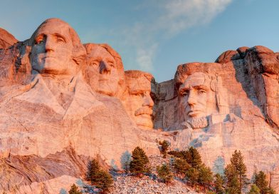 In which states are these US landmarks located?